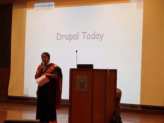 Shyamala keynote on global opportunities with Drupal at DCD 2016